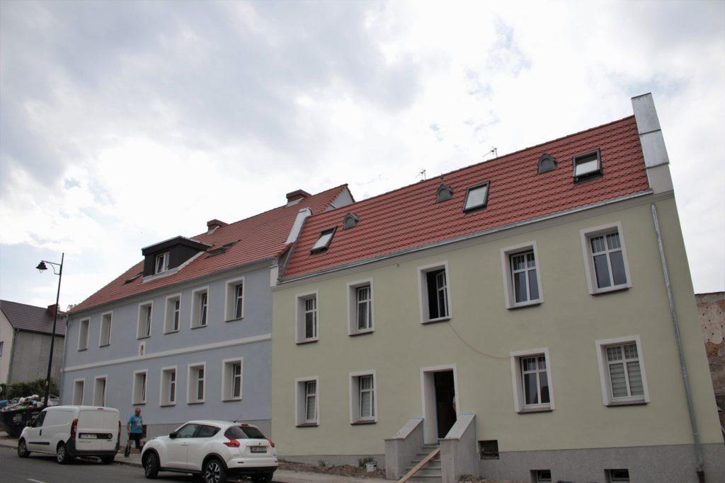 zdjęcie przedstawia budynek po termomedernizacji